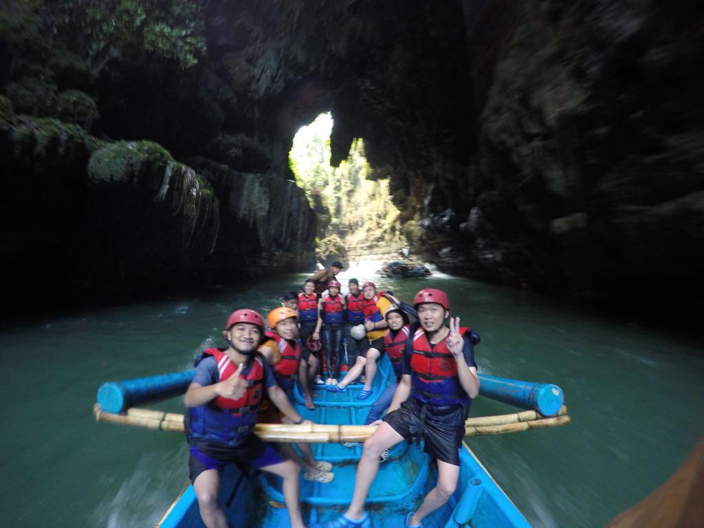 Paket Body Rafting Green Canyon