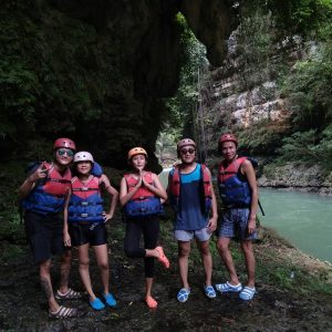 Body Rafting Green Canyon 2018