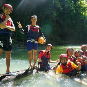 Body Rafting Green Canyon Murah